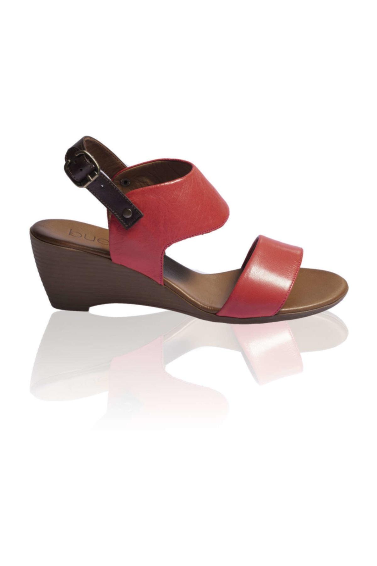 BUENO Shoes Kırmızı Bayan Sandalet 9n3700 1