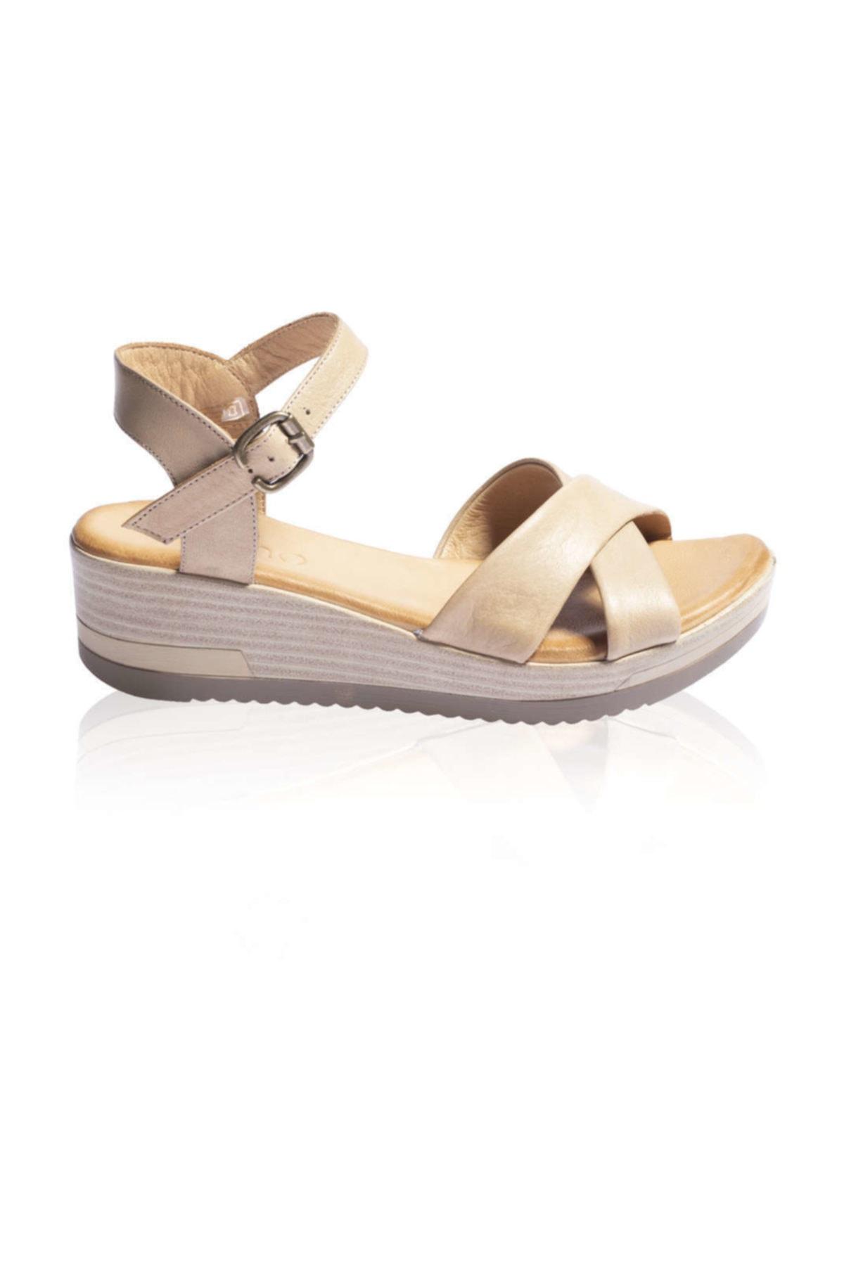 BUENO Shoes Lacivert Bayan Sandalet 9l3303 2