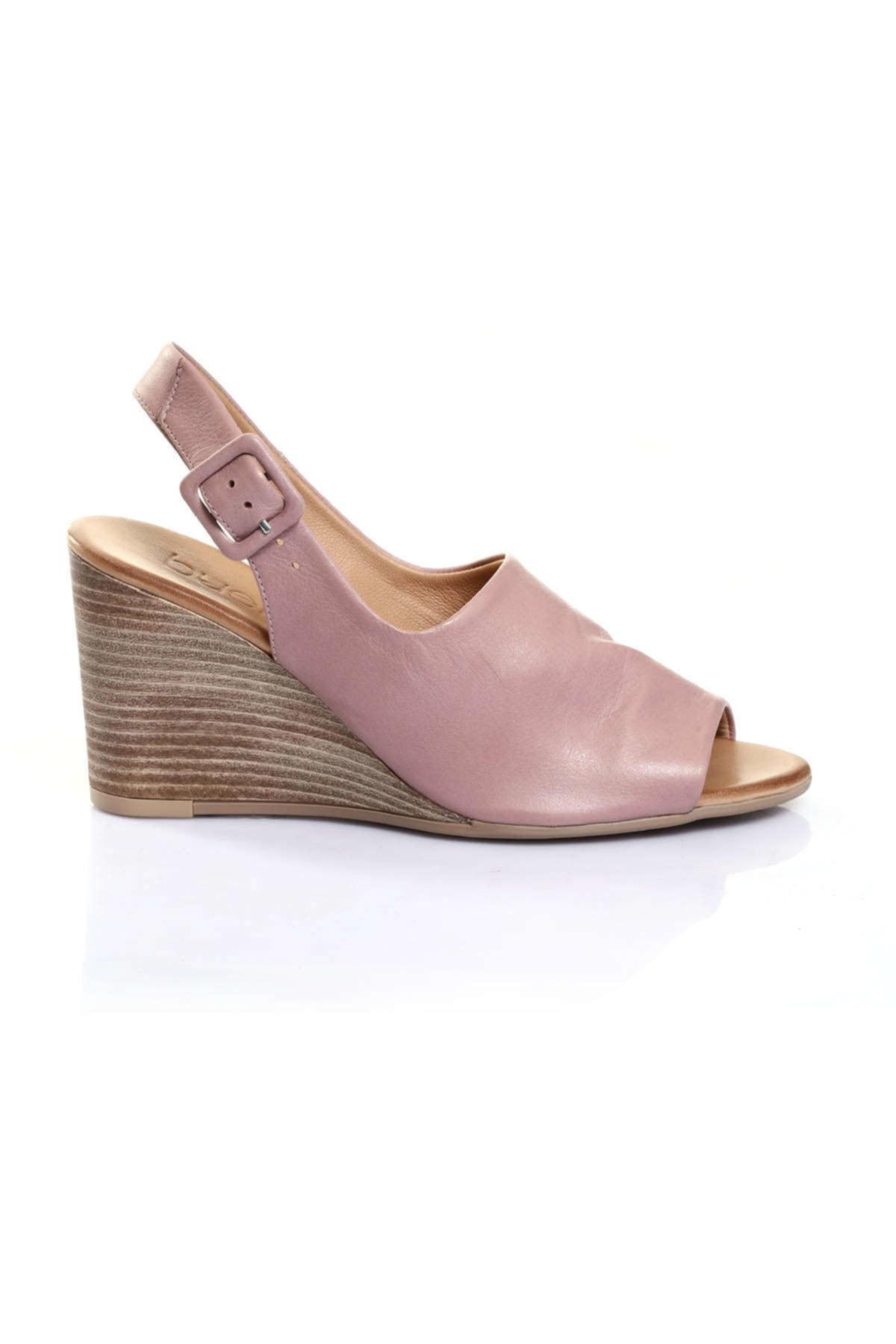 BUENO Shoes Bej Bayan Sandalet 9n1407 2