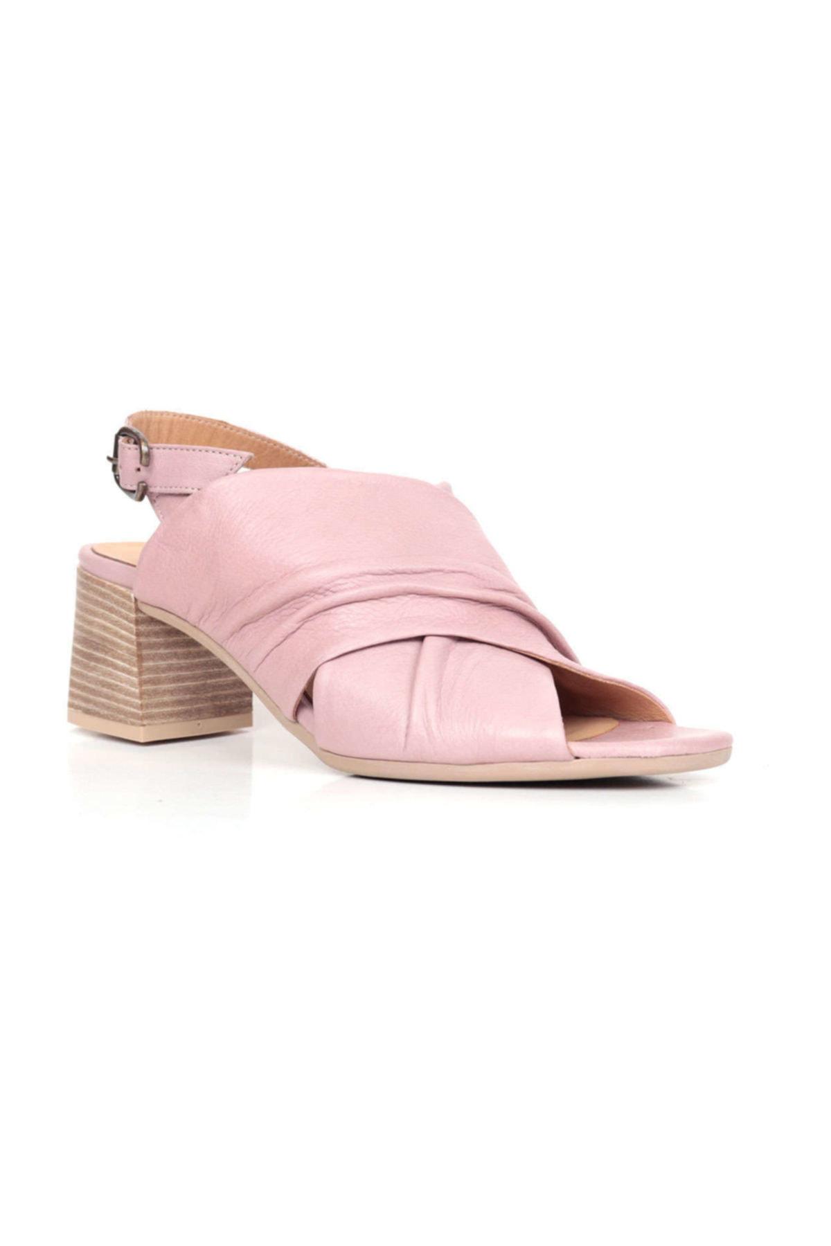BUENO Shoes Siyah Bayan Sandalet 9n1309 1