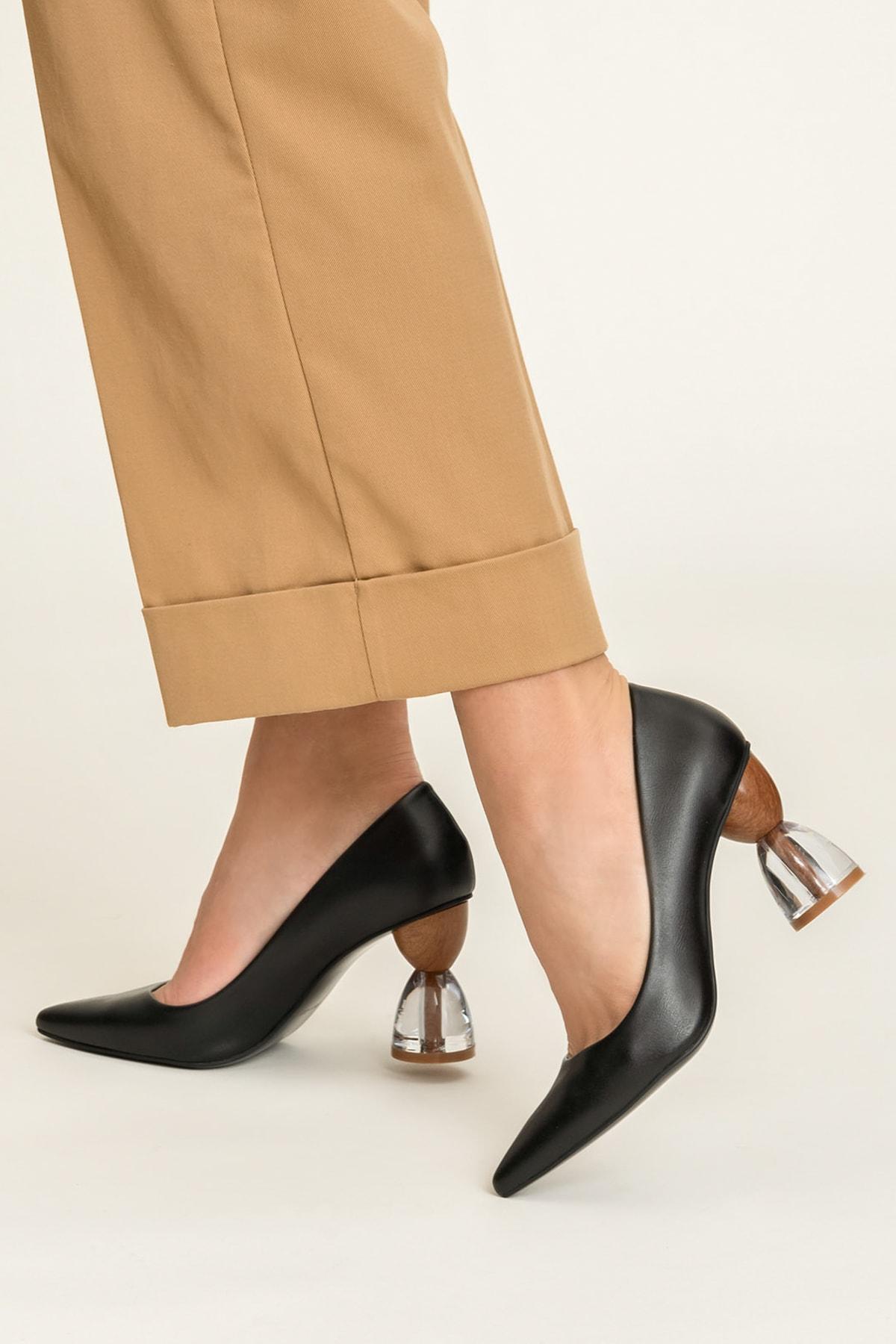 Elle Shoes ALIVIE-1 Siyah Kadın Ayakkabı 1