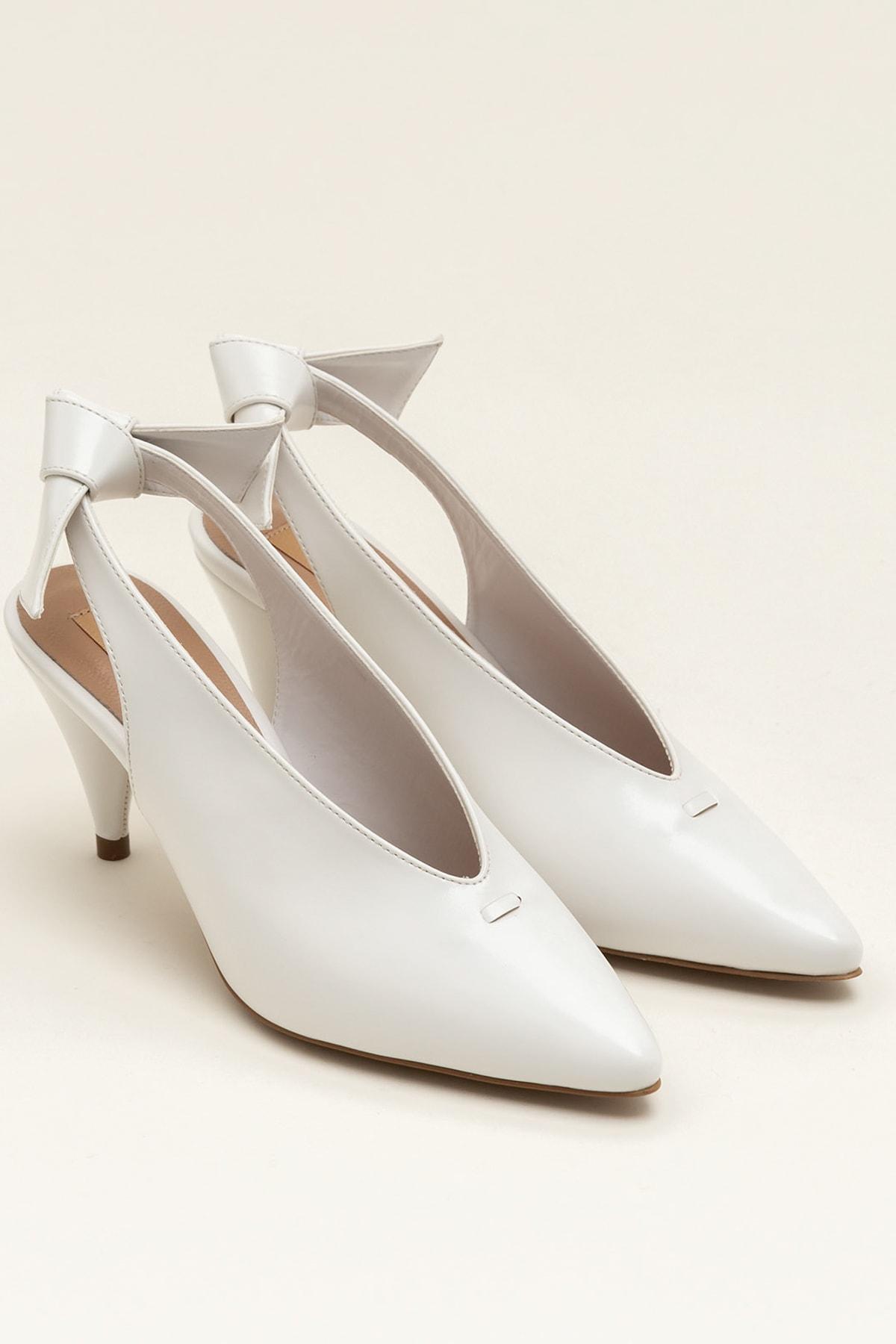 Elle Shoes NELIDA-1 Beyaz Kadın Ayakkabı 2
