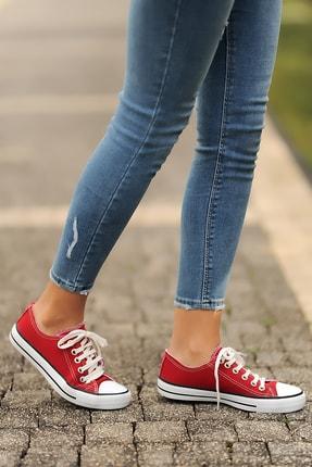 Pembe Potin Kırmızı Kadın Casual Ayakkabı A3232-20