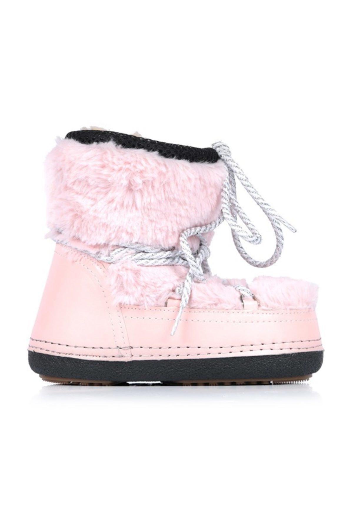 Oblavion Kız Çocuk Pembe Moonia Kids Soft Pink Kar Botu 1