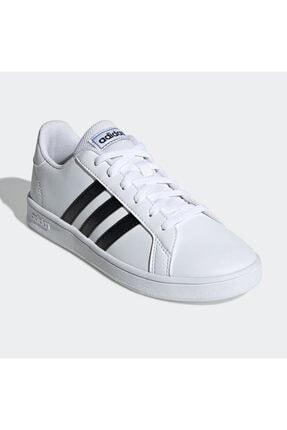 adidas Grand Court Beyaz Erkek Çocuk Sneaker Ayakkabı