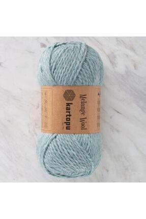 Kartopu Melange Wool El Örgü Ipi-480