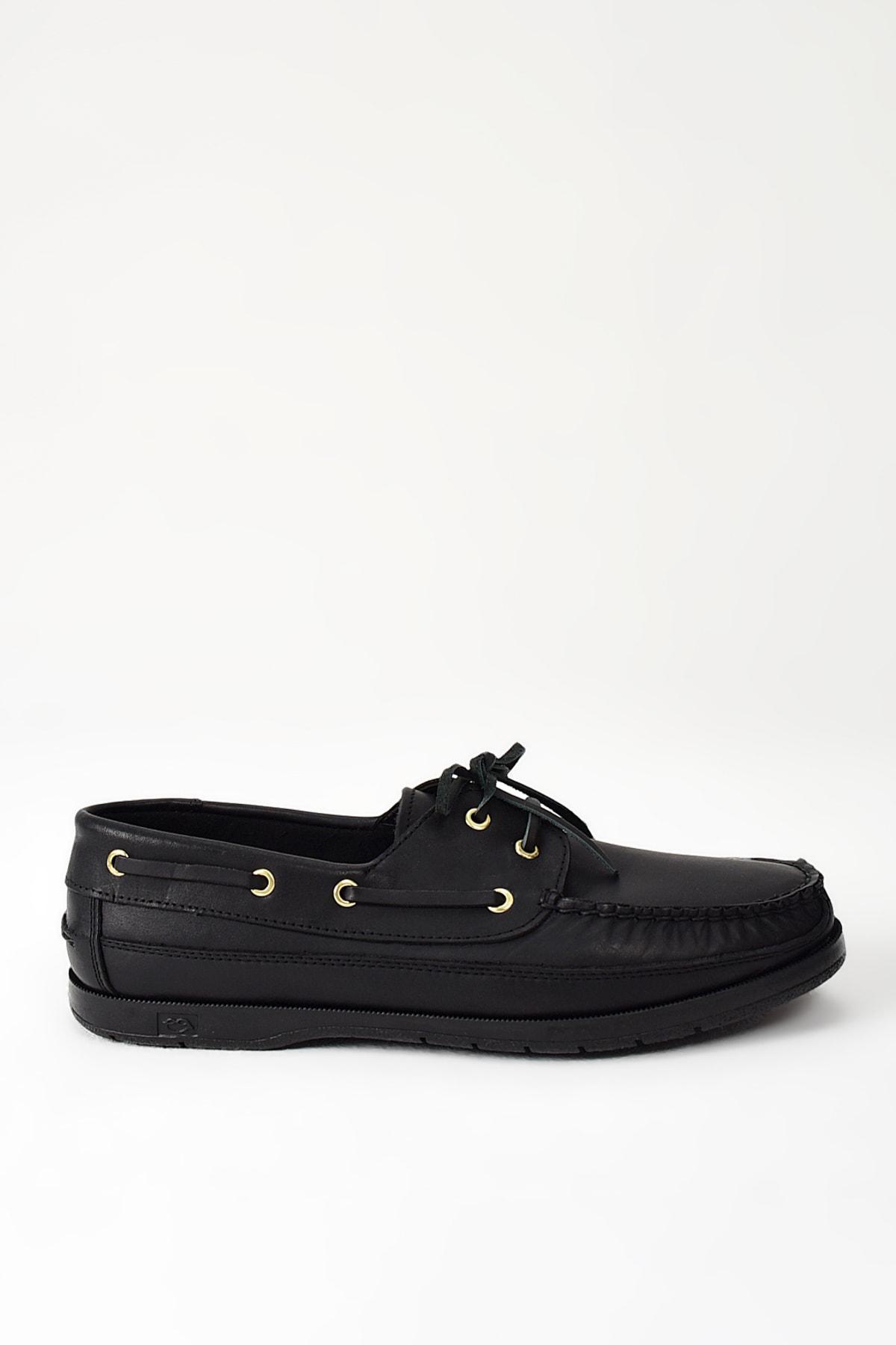 Ziya Hakiki Deri Siyah Erkek Ayakkabı 101119 29 1 1