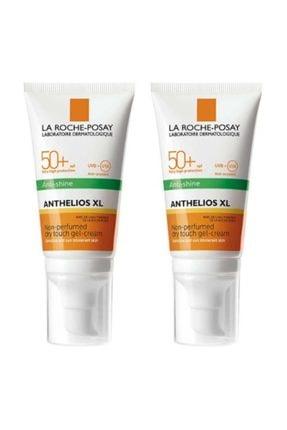 La Roche Posay Anthelios Dry Touch Gel Cream Spf50+ 2x50ml |orijinal Boy 2 Adet