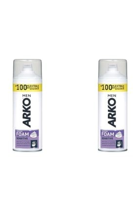 ARKO Traş Köpüğü Sensitive 300 Ml X 2 Adet