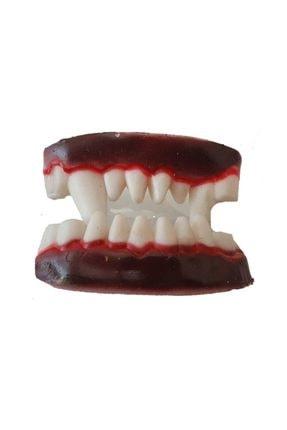 Pandoli Çift Damaklı Silikon Vampir Takma Diş