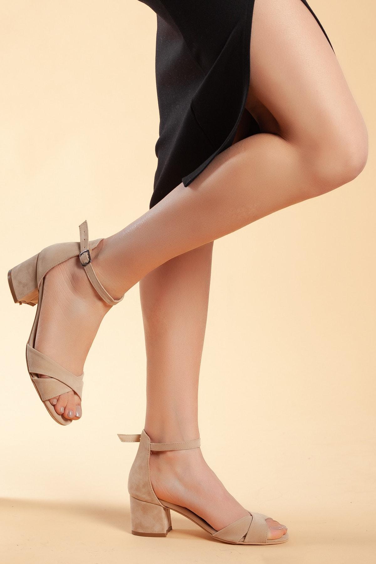 Daxtors Vizyon-Süet Kadın Ayakkabı DXTRFLRN204 2