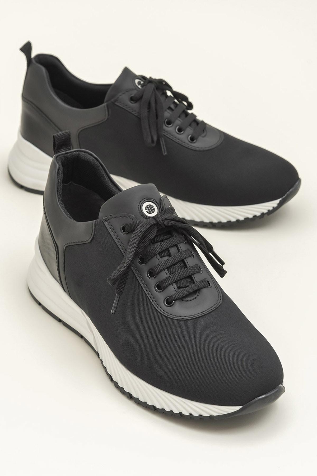 Elle Shoes GABE Siyah Erkek Ayakkabı 1