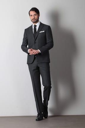 Ramsey Desenli Dokuma Takım Elbise - RP10108759