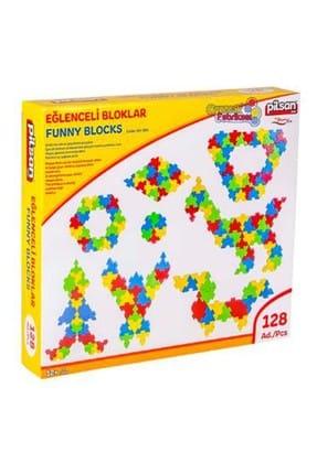 PİLSAN Eğlenceli Bloklar (128 Parça)