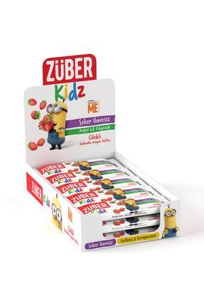 Züber Kidz Çilekli ve Kakaolu Meyve Tatlısı - 30 gr x 16 Adet