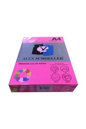 Alex A4 Renkli Fotokopi Kağıdı Fosforlu Renkler 20 Li Paket