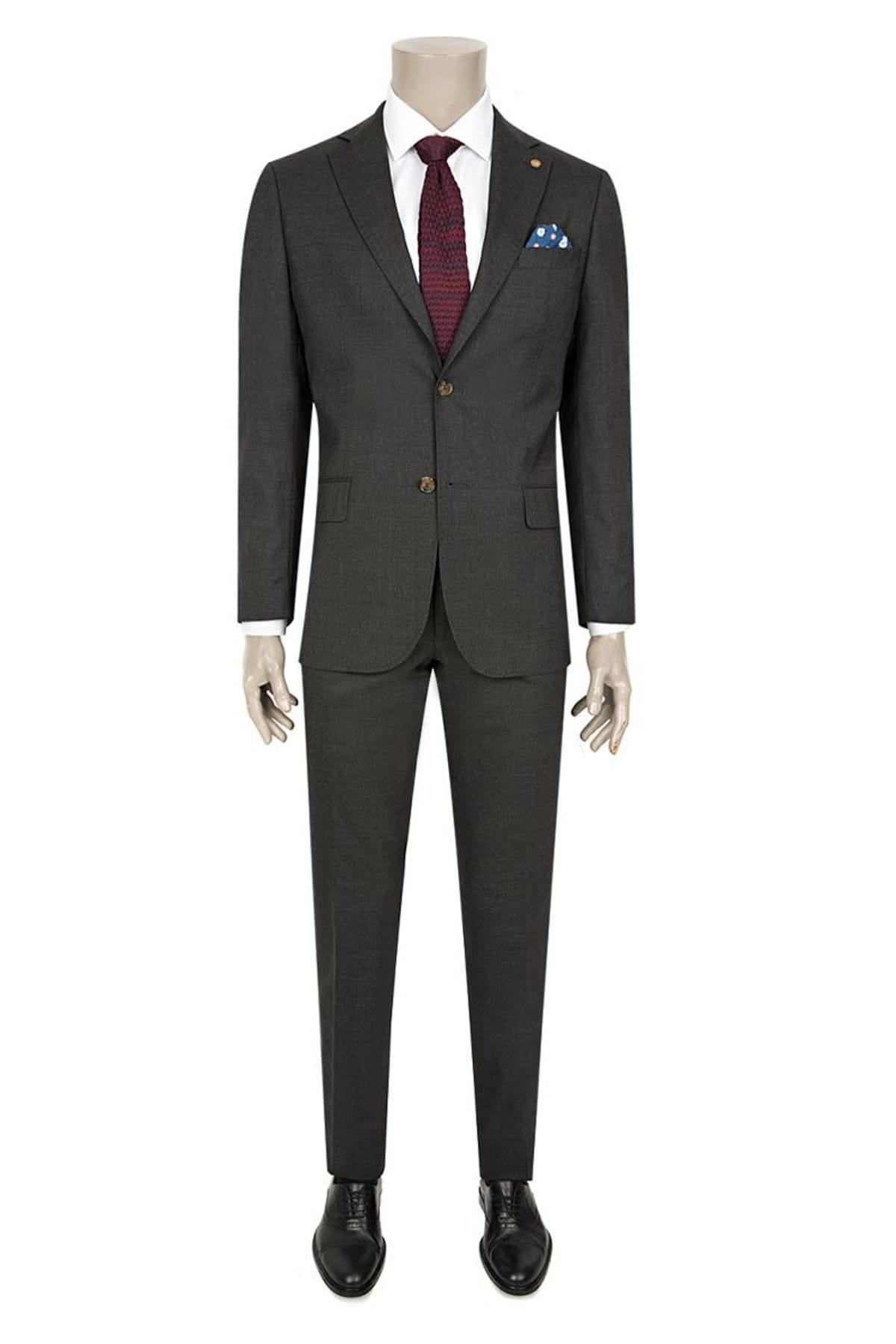 Damat Erkek  Antrasit Takım Elbise 2DF05LP00562_A01 1