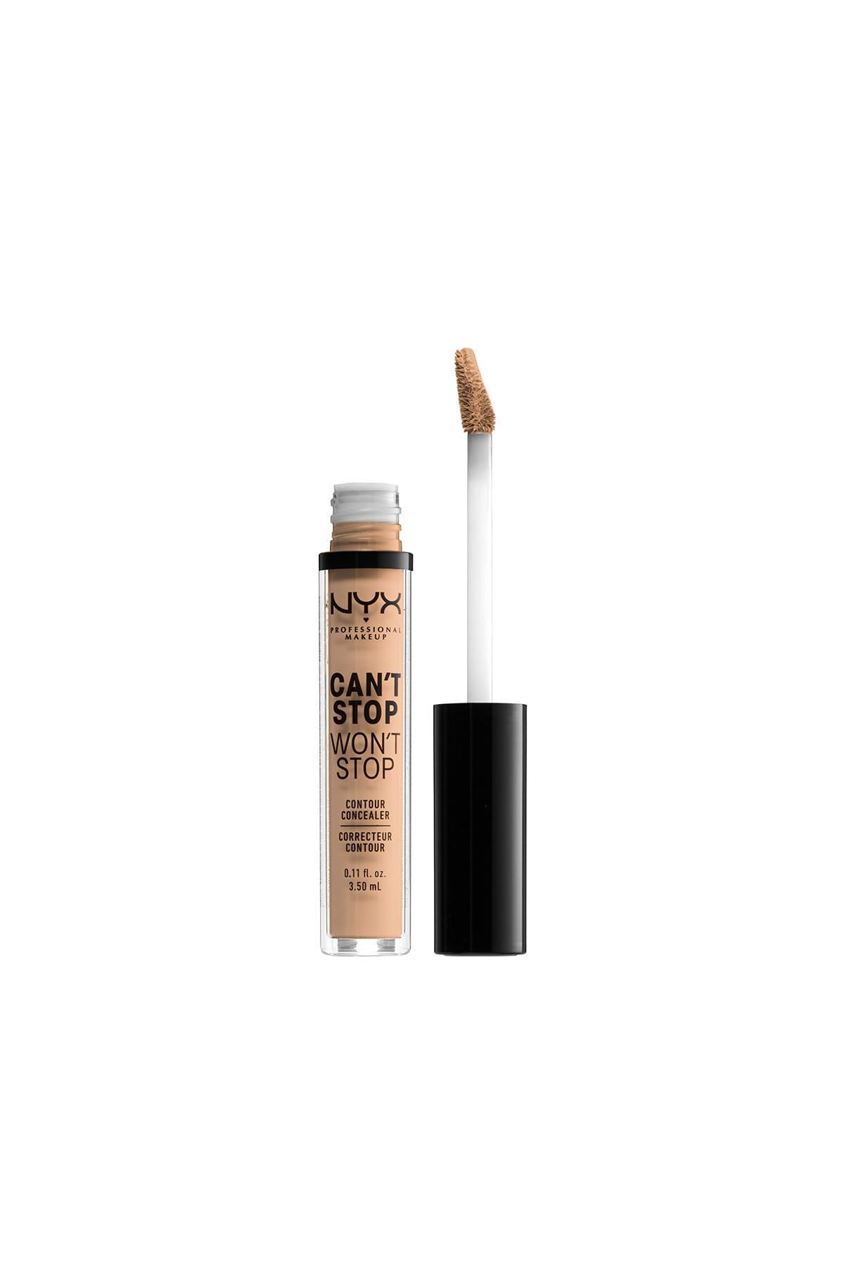 NYX Professional Makeup Kapatıcı - Can't Stop Won't Stop Contour Concealer 7 Natural 3.5 ml 800897168599 2