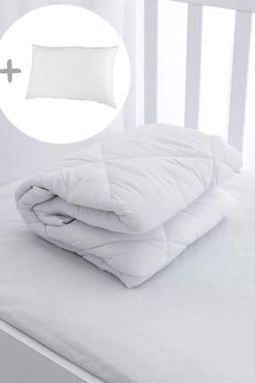 Nakkısh Pamuk Bebek Yorganı + 1 Pamuk Yastık