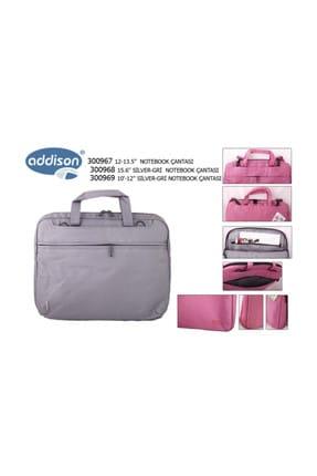 """ADDISON Addison 300968 15.6"""" Gümüş-Gri Bilgisayar Notebook Çantası"""