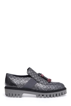 ALBERTO GUARDIANI Kadın Gümüş Klasik Ayakkabı