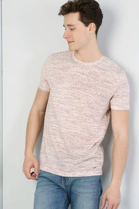Colin's Oranj/turuncu Erkek Tshirt K.kol CL1041871