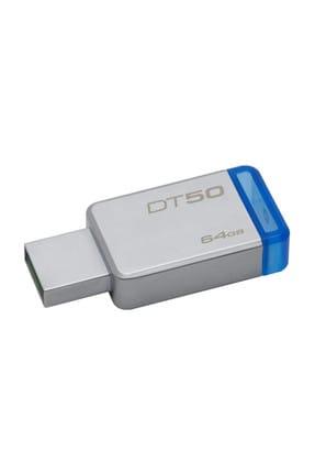 Kingston Data Traveler 50 Usb 3.0 Bellek 64Gb Dt50/64Gb