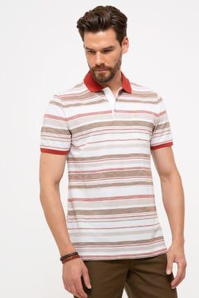 Pierre Cardin Kiremit Regular Fit Polo Yaka T-Shirt
