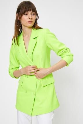 Koton Kadın Yeşil Mont 0KAF50113GW