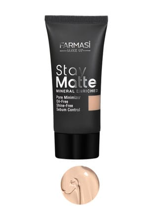Farmasi Fondöten - Stay Matte Foundation Neutral 03 30 ml 8690131772321