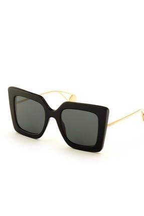 Gucci Kadın Siyah Güneş Gözlüğü GG0435S 001 51
