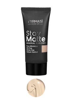 Farmasi Fondöten - Stay Matte Foundation Porcelain 02 30 ml 8690131772314