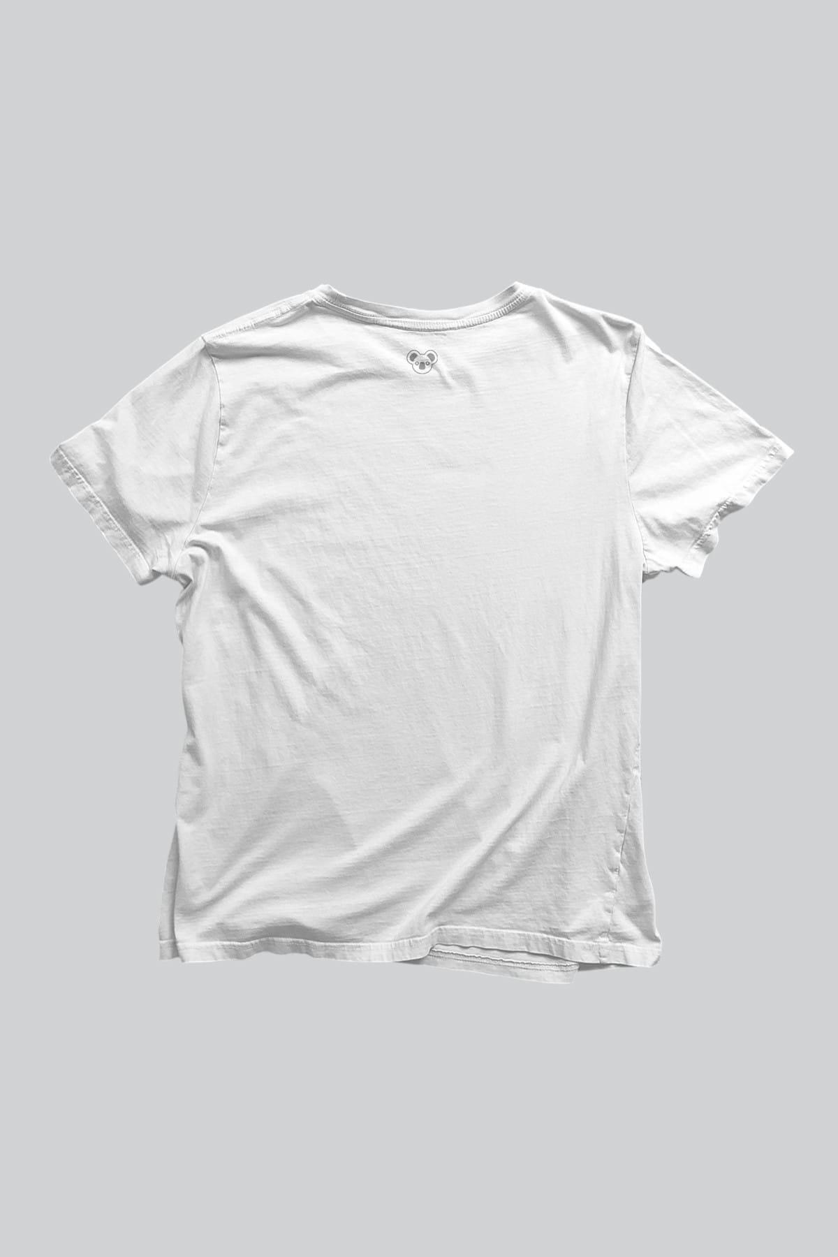 Koala Erkek Beyaz T-shirt BET001BBASIC 2