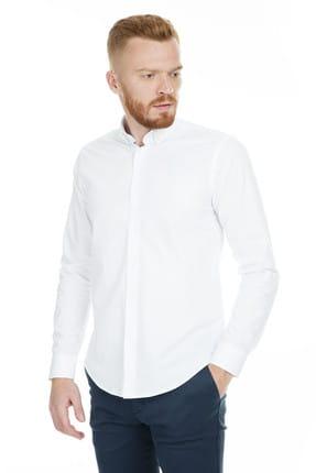 Abbate Erkek Beyaz Gömlek - 1Gm91Uk0111S 900