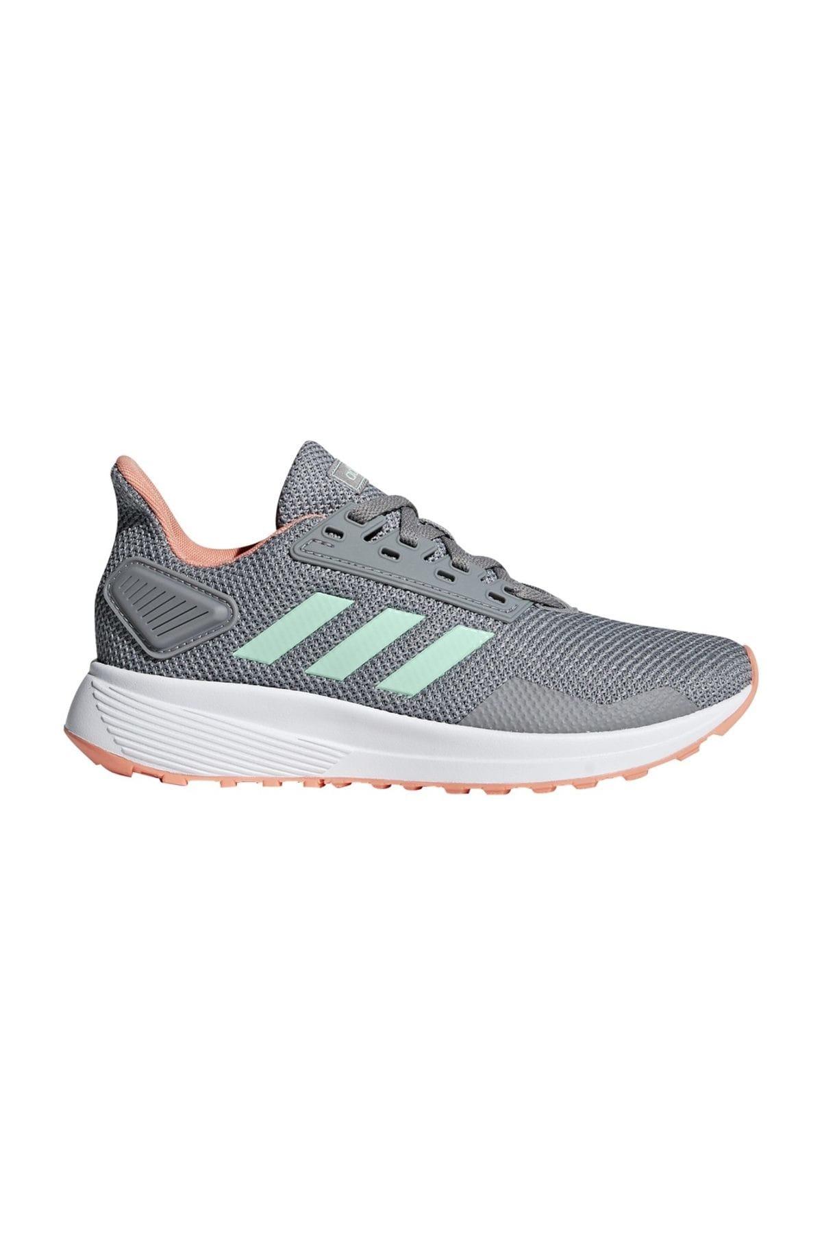 adidas Duramo 9 K Gri Koşu Ayakkabısı 100350569 2