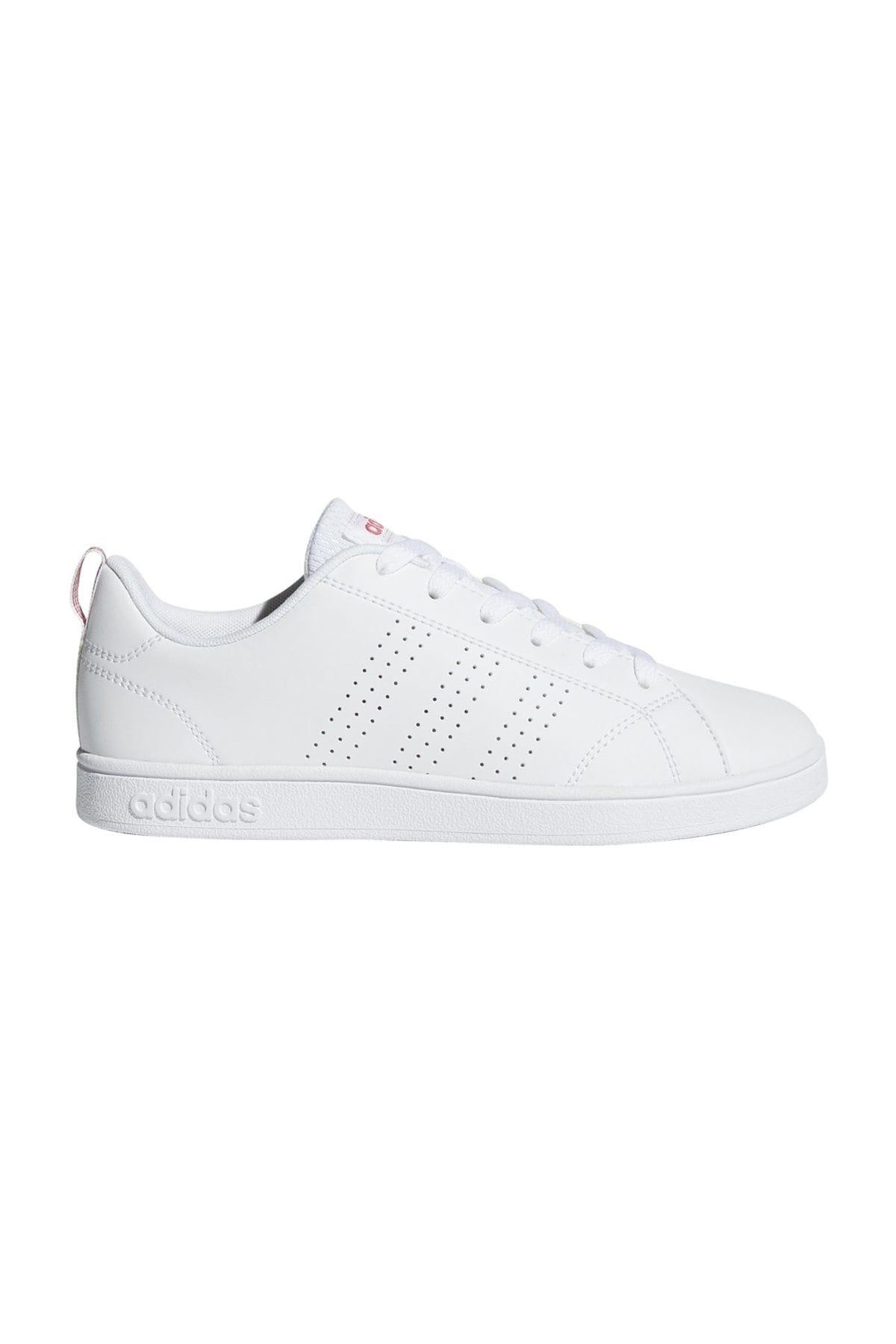 adidas VS Advantage Clean Beyaz Mercan Kız Çocuk Sneaker 100323765 2