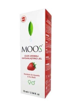 Moos Çilek Aromalı Kayganlaştırıcı Jel 75 ml