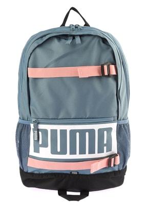 Puma Unisex Sırt Çantası - PUMA Deck Backpack - 07470627