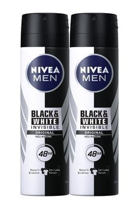 Nivea Invisible Black&White Original Power Erkek Deodorant Sprey 100 ml
