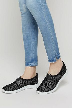 ART BELLA U2805-19S Siyah Kadın Slip On Ayakkabı 100352215