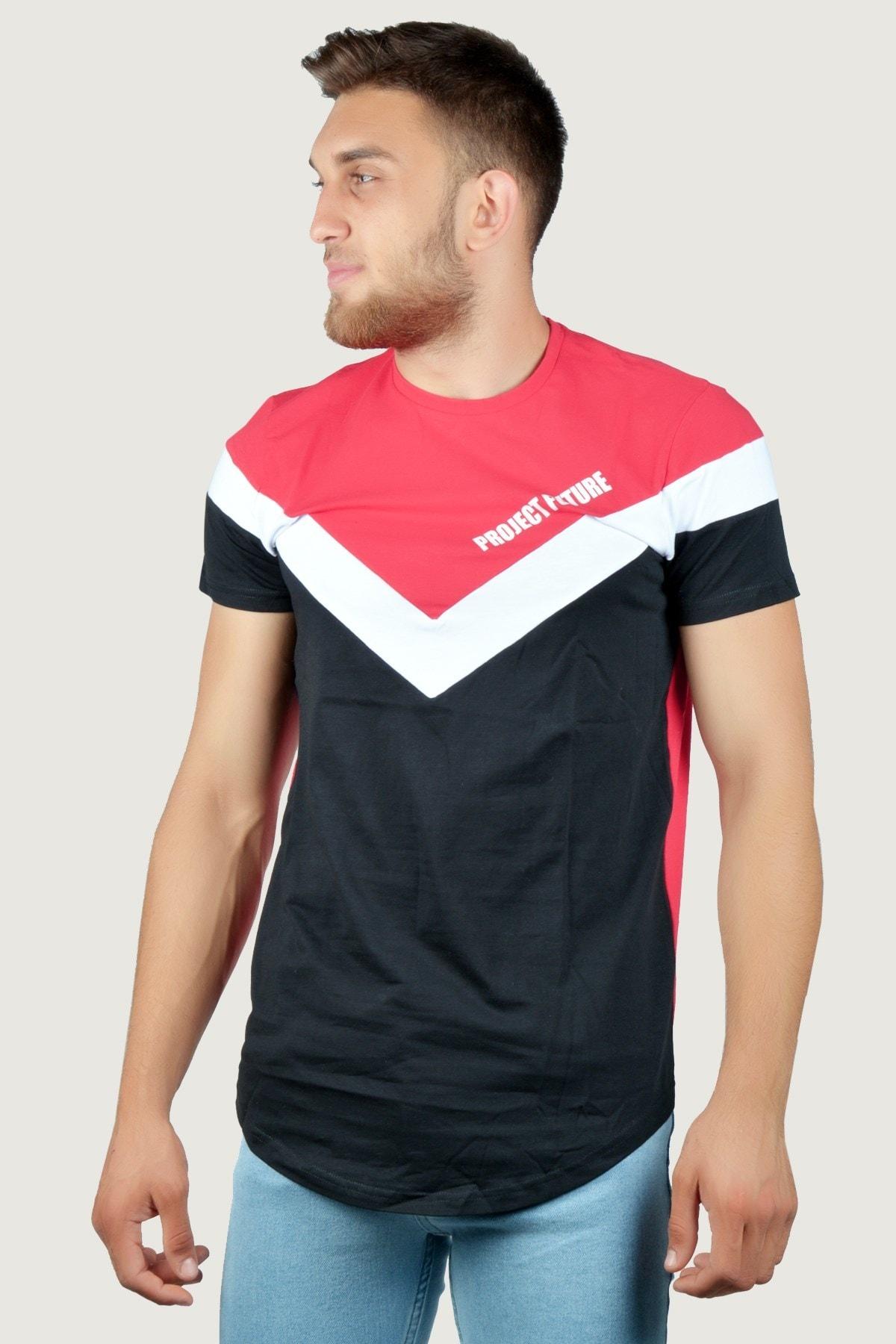 Terapi Men Erkek T-Shirt 9Y-3400533-066 Kırmızı-Siyah