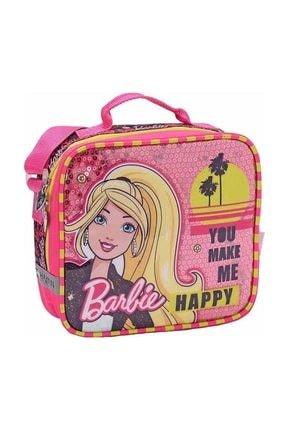 Barbie Kız Çocuk Pembe  Beslenme Çantası 87468