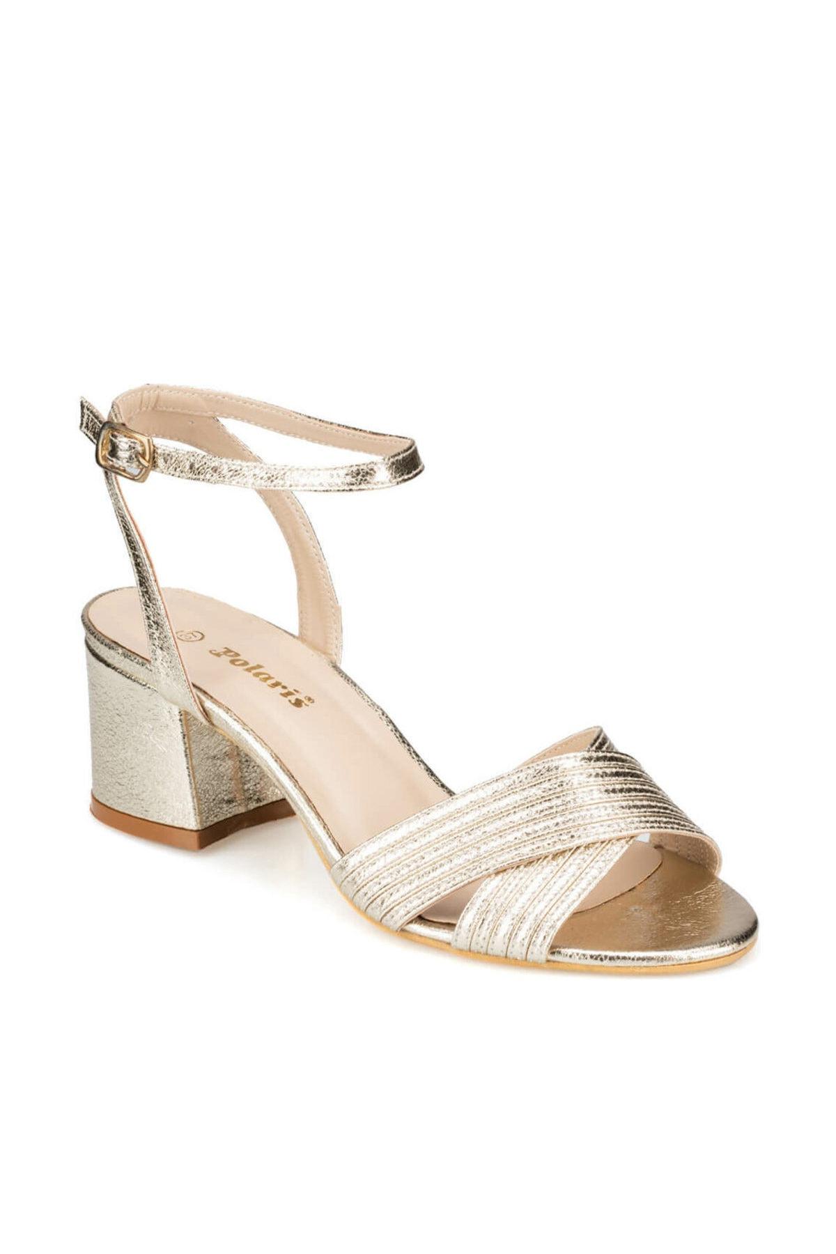 Polaris 91.313198.Z Altın Kadın Sandalet 100376315 1