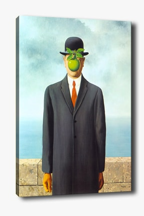 Tablo Center Kanvas Tablo Rene Magritte