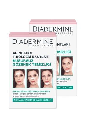 Diadermine Arındırıcı T Bölgesi Bantları 6'Lı X 2 Adet
