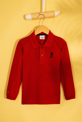 U.S. Polo Assn. Turuncu Erkek Çocuk Sweatshirt