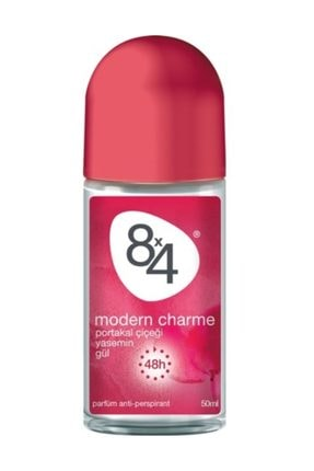 8x4 Modern Charme Roll-On 50 ml Kadın