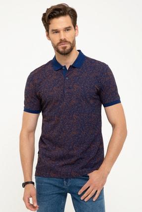 Pierre Cardin Erkek Lacivert Slim Fit T-Shirt