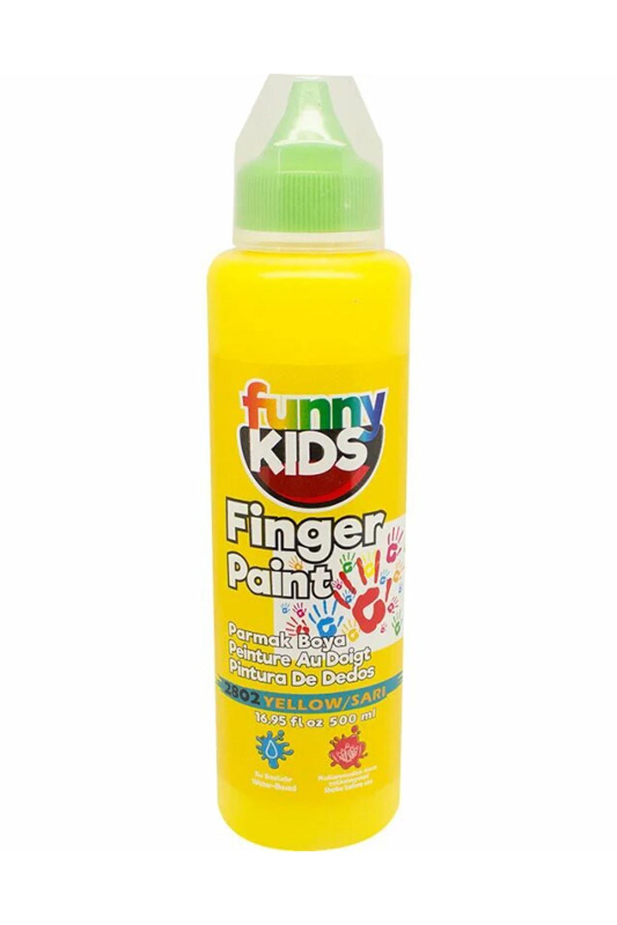 Rich Funny Kids Parmak Boyası 500ml - 2802 Sarı 1