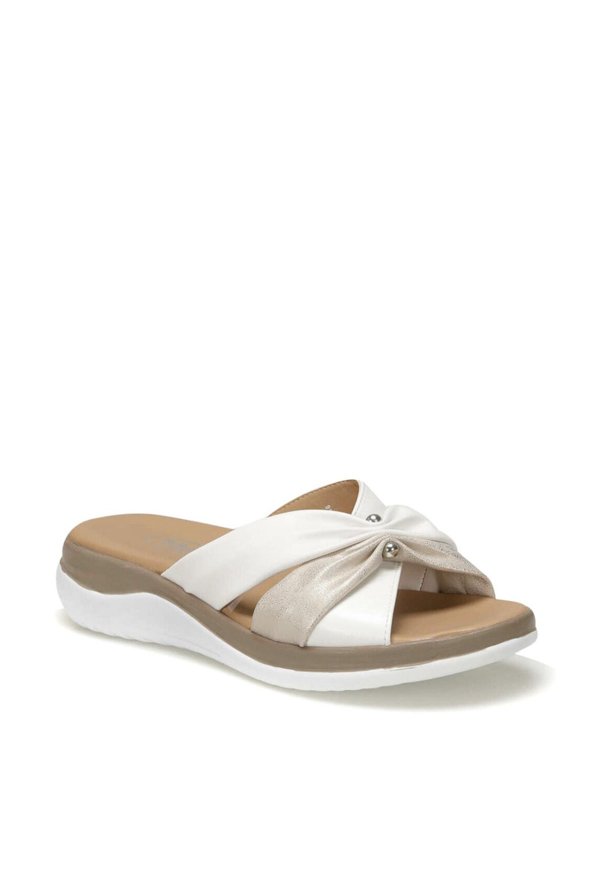 Polaris 91.150933.Z Altın Kadın Sandalet 100379915 1